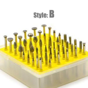 BROSSE ABRASIVE A MAIN Outils rotatifs Accessoire 50pcs Fraise à meuler d