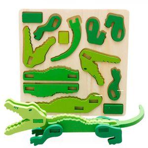 PUZZLE Puzzle montessori mini 3d puzzle enfants jouet en