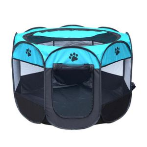 NICHE Pliable Clôture Cage pour Chien Animal de Compagni