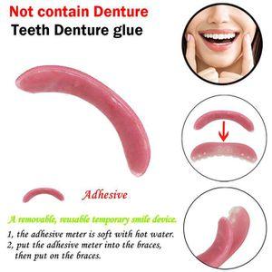 DENTIFRICE Colle dentaire provisoire de dentiste de dents de