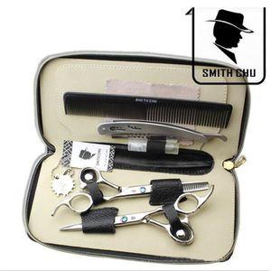 CISEAUX - EFFILEUR Professionnel Ciseaux de coiffure Set 62HRC Straig