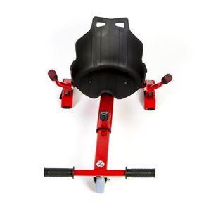 ACCESSOIRES GYROPODE - HOVERBOARD HoverKart - Complément Kart pour Hoverboard  Rouge