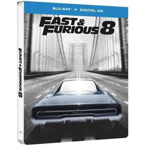 BLU-RAY FILM fast and furious 8 blu ray steelbook