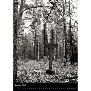 CALENDRIER - EPHEMERIDE CD-53054 mondes engloutis - portrait Al A4