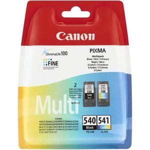 CARTOUCHE IMPRIMANTE CANON Pack 2 Cartouches PG-540 / CL-541 - Noir + C