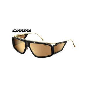 Carrera 173//S 40 g 9K en plastique Jaune Lunettes De Soleil Aviateur Vert Gradient Lens