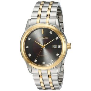 MONTRE Citizen Eco-drive Two Tone Watch With Diamond Acce