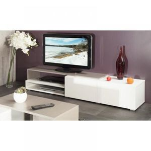 Meuble tv taupe achat vente meuble tv taupe pas cher - Soldes meubles tv ...