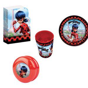 Piñata kit 24 jouets Miraculous Ladybug pour pinata fête