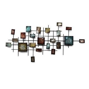 Decoration murale en metal achat vente decoration for Decoration murale metal alinea