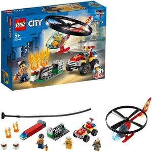 ASSEMBLAGE CONSTRUCTION LEGO® City 60248 - L'intervention de l'hélicoptère