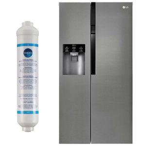 RÉFRIGÉRATEUR AMÉRICAIN LG Réfrigérateur frigo Americain US 2 portes inox