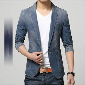 VESTE HOT 2016 New Spring Fashion Brand Hommes Blazer...