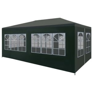 TONNELLE - BARNUM Tente de réception 3 x 6 m Vert
