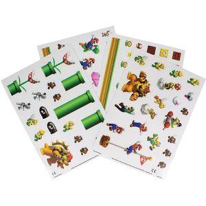 JEU DE STICKERS Nintendo  - Autocollants Super Mario