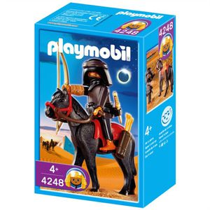 UNIVERS MINIATURE Playmobil Brigand et cheval