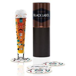 BIÈRE Ritzenhoff 1010234Black Label Verre à bière, Verr