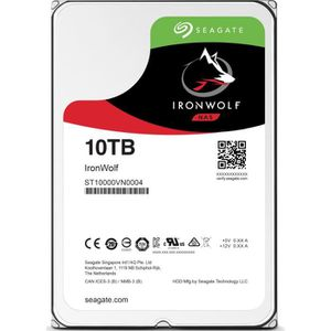 DISQUE DUR INTERNE Seagate IronWolf ST10000VN0004, 3.5