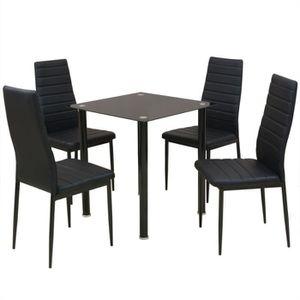 TABLE DE CUISINE  vidaXL Ensemble table et chaise de salle à manger