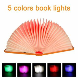 Lampe Éclairage Livre Pliage Light Night Pliable Portable Led Rechargeable Pages Forme De Lecture Usb Creative Lumière Table K1JTlF3uc