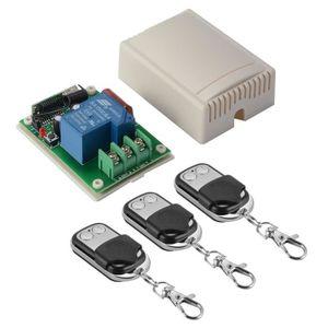INTERRUPTEUR - PULSEUR Module Interrupteur Télécommande RF à Bascule Réce