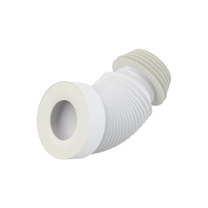 Pipe flexible WC - DN40 - Longueur de 200 à 520 mm