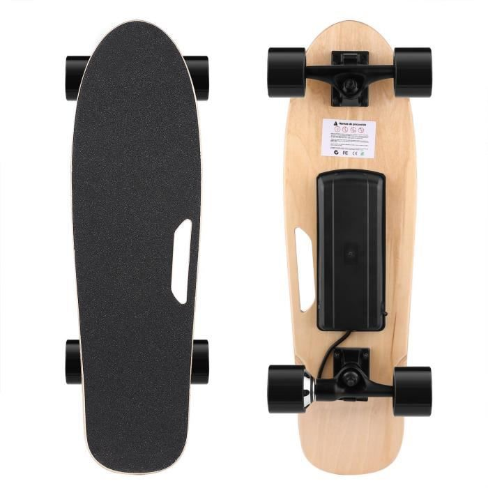 Skateboard électrique avec télécommande portative sans fil EU PRISE