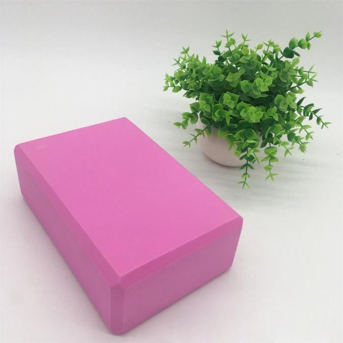 Le pack de 2 briques de yoga et la brique de yoga en mousse EVA haute densité peuvent soutenir et approfondir @462
