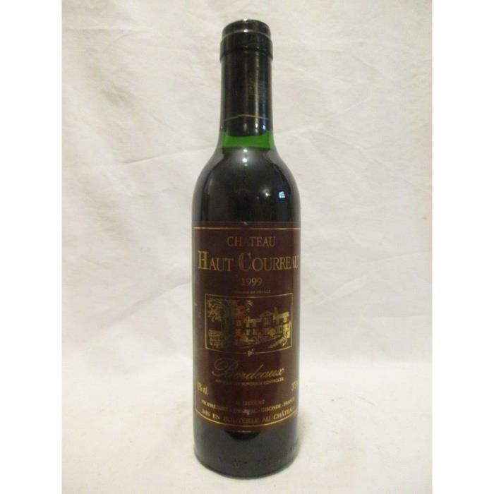 37,5 cl bordeaux château haut courreau rouge 1999 - bordeaux france