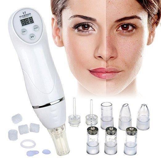 Massage facial de peau de retrait de points de tête de machine de microdermabrasion de 100V-240V Diamond Dermabrasion