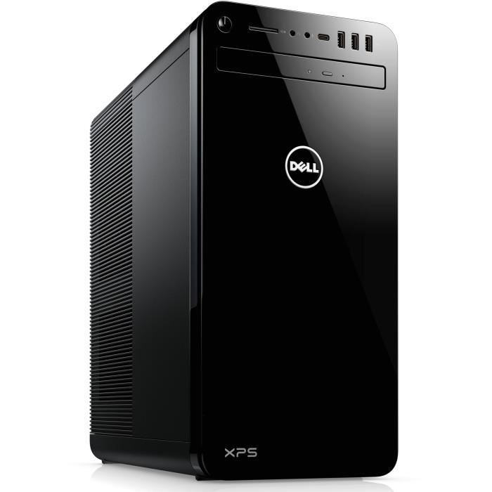 DELL PC de Bureau XPS 8930 - Core i5-8400 - RAM 8Go - Stockage 1To HDD - GTX 1050 Ti 4Go - Windows 10