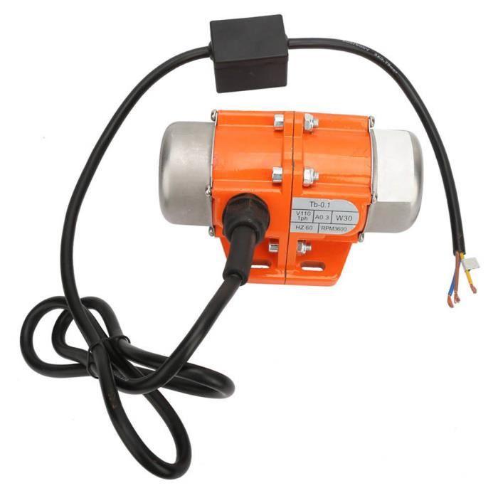 Fdit moteur de vibration monophasé Moteur universel de vibration 30W ~ 100W Moteur de vibrateur monophasé Prise américaine 110V