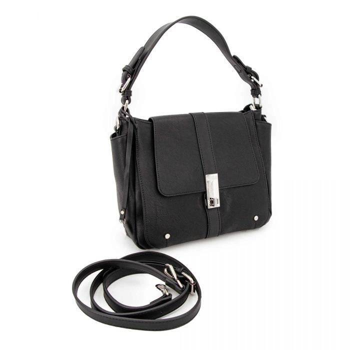 Sac porte epaule rachelle noir grmm119005 Femme GEORGES RECH