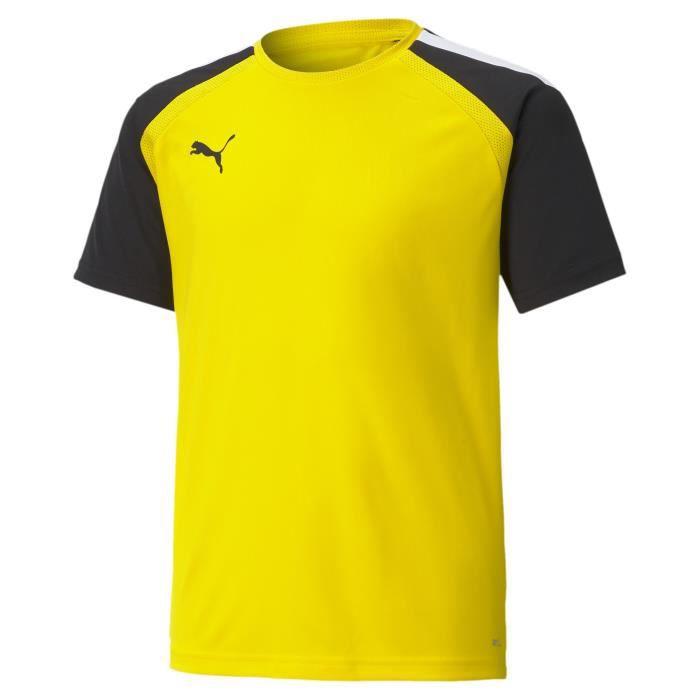 Maillot enfant Puma Team Pacer - jaune or/noir/blanc - 8 ans