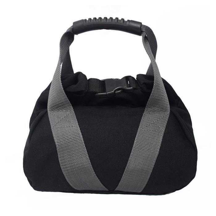 Sac de sable réglable Kettlebell Sac de sable souple Portable haltère d'haltérophilie pour la musculation Fitness Gym