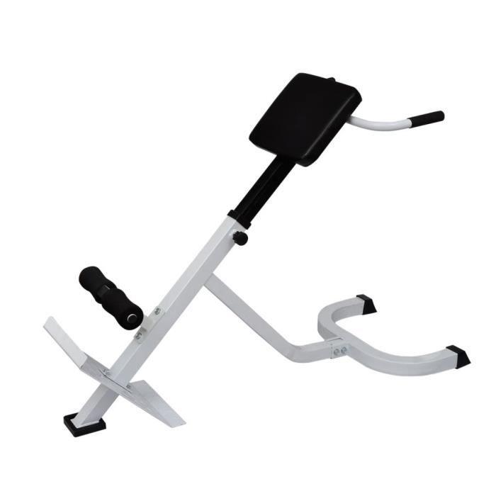 Banc de musculation- Fitness Station de Musculation Réglable du dos
