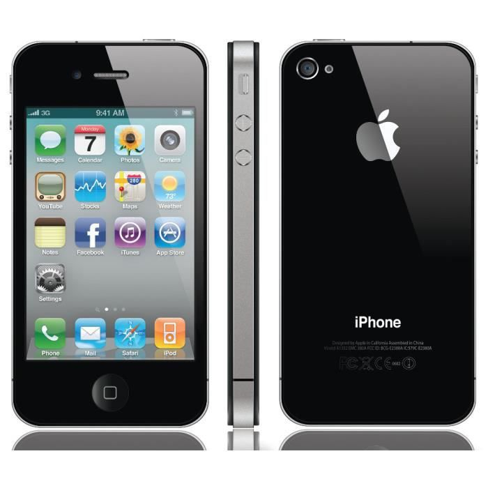 iphone 4s 16gb achat smartphone pas cher avis et. Black Bedroom Furniture Sets. Home Design Ideas