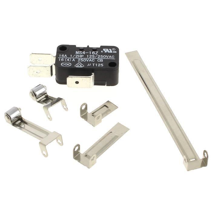 FRITEUSE ELECTRIQUE Microswitch 3 cosses + languettes pour Seche-linge
