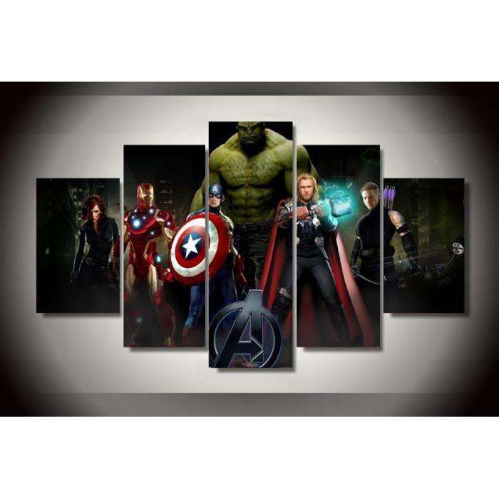 Robe de chambre Plusieurs personnages de super-h/éros Marvel Avengers Peignoir pour hommes