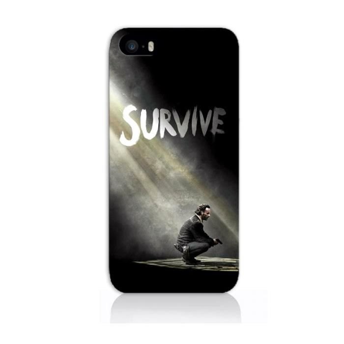 coque iphone 5c survive walking dead