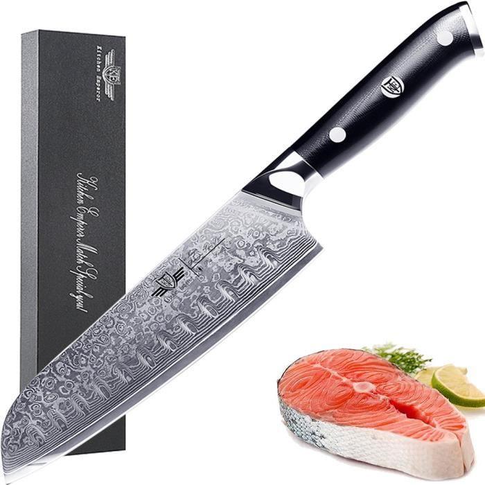 Kitchen Emperor Couteaux Santoku Couteau Cuisine Professionnel