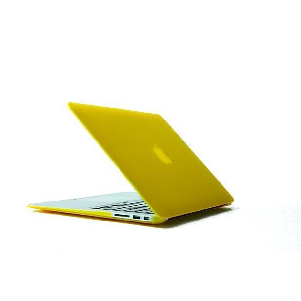 Anti glare housse de pour macbook air 11 6 yellow achat for Housse macbook air 11