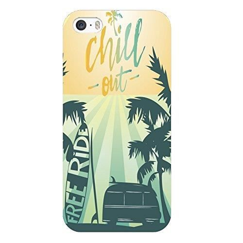 coque iphone 5 5s se summer chill surf tropical su