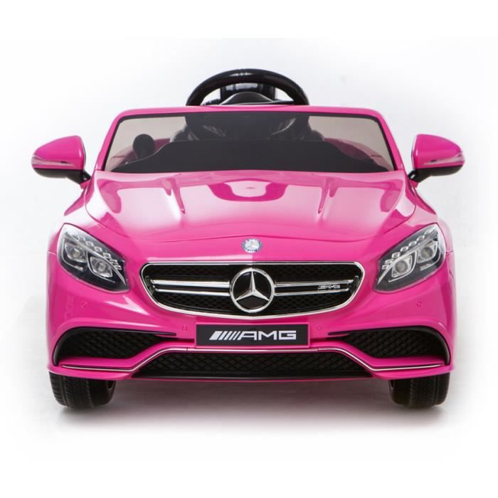 mercedes s63 amg voiture jouet lectrique pour enfant deux. Black Bedroom Furniture Sets. Home Design Ideas