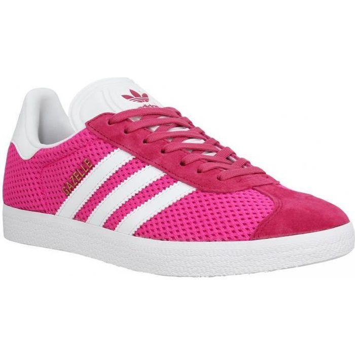 basket adidas gazelle femme rose