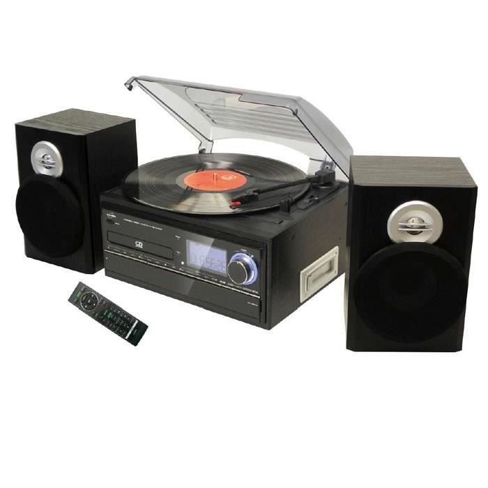 CHAINE HI-FI INOVALLEY RETRO19 Chaîne HiFi graveur CD et encoda