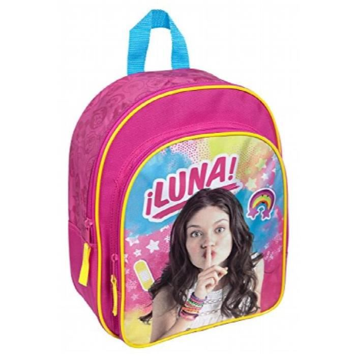 env Disney Soy Luna Undercover sorn7601/Sac /à Dos avec Poche Avant 31/x 25/x 10/cm