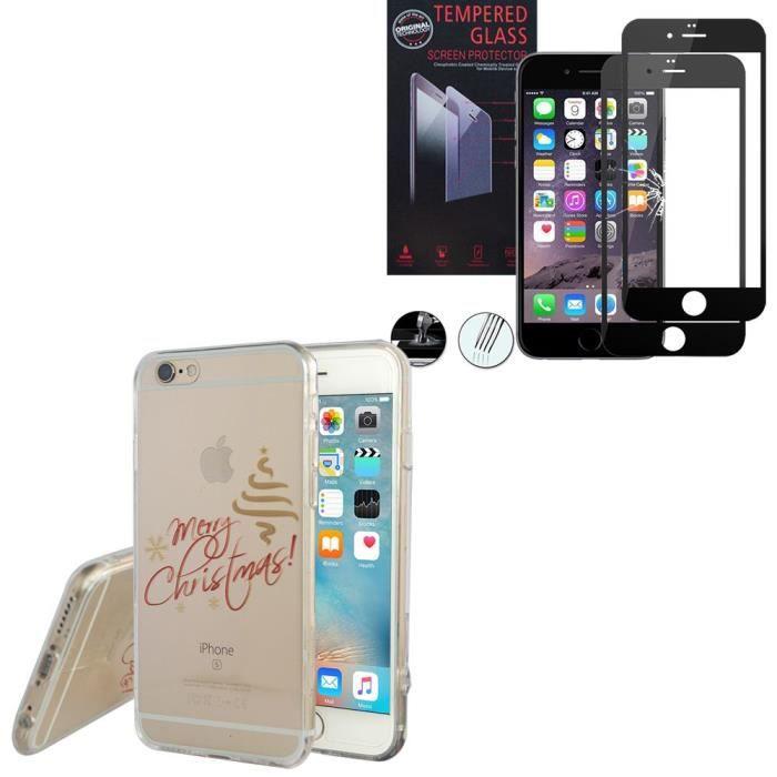 coque silicone iphone 6 noir