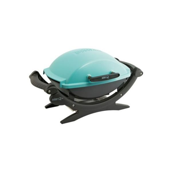 barbecue lectrique weber q140 turquoise achat vente barbecue barbecue lectrique weber q. Black Bedroom Furniture Sets. Home Design Ideas