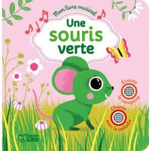 Livre 3-6 ANS Une souris verte